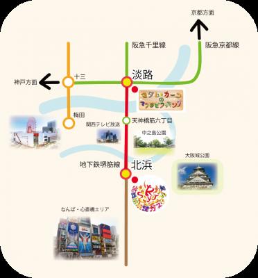 whse学園のマップ
