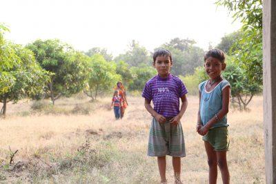 コンガリア村の子供達